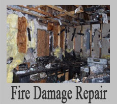 Repair of Fire, Smoke & Soot Damage