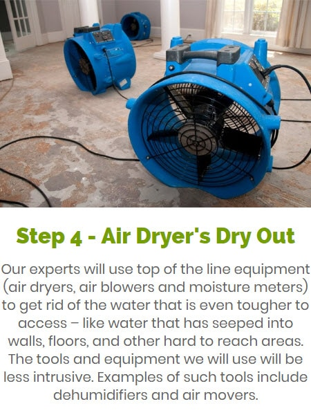 Dry Out of Your Home or Building