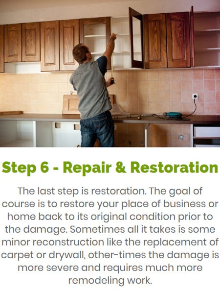 Emergency Water Removal & Extraction Services: Step 3