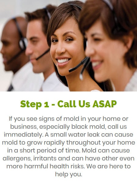 call our Severn, MD team ASAP